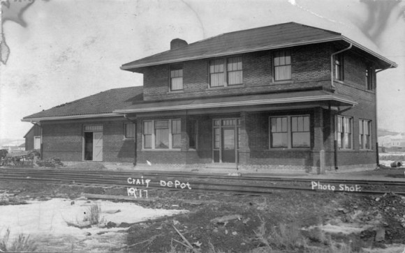 Craig railroad depot for Railroad depot plans