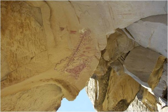 Shield Rock Art Site SAVED