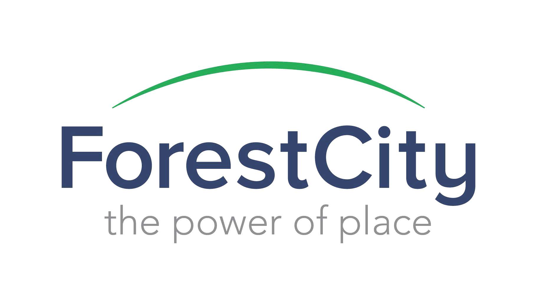 Forest City logo- tagline