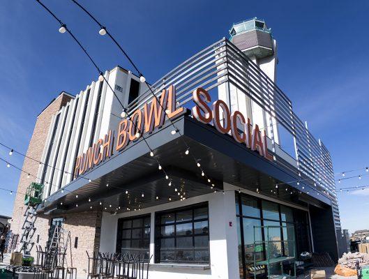 Punch Bowl Social Stapleton days before its grand opening, Nov. 15, 2017. (Kevin J. Beaty/Denverite) denver; colorado; denverite; kevinjbeaty; punch bowl social; stapleton; food; restaurant; nightlife; bar;